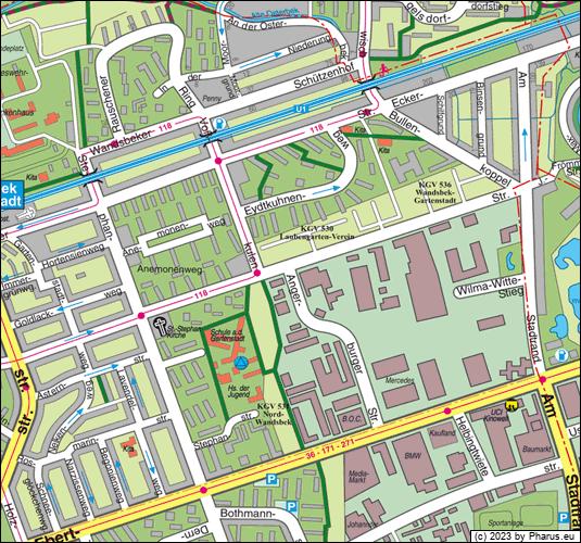 Angerburger Straße Hamburg, 22047 Hamburg - Wandsbek